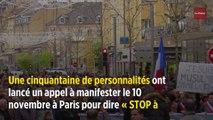 Marine Le Pen fustige la marche contre l'islamophobie