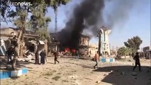 ثمانية قتلى في انفجار سيارة مفخخة بمنطقة سيطرة الجيش التركي شمال سوريا