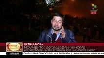 Bolivia: opositores tomaron vías de acceso de la Plaza Murillo
