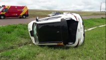 Acidente de trânsito é registrado na BR-467, em Cascavel