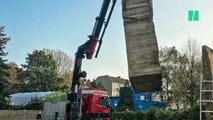 Des Berlinois envoient à Trump un morceau du mur Berlin