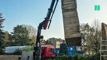 Des Berlinois envoient à Trump un morceau du mur de Berlin