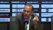 Beşiktaş-Yukatel Denizlispor maçının ardından - Mehmet Özdilek (1) - İSTANBUL