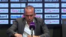Beşiktaş-Yukatel Denizlispor maçının ardından - Mehmet Özdilek (2)