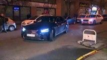 Albert Rivera llega a la sede de Ciudadanos para seguir la noche electoral del 10N