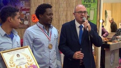 Medaille d'or Afrodiz Sorbets 2019 Dijon