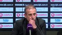 Beşiktaş-Yukatel Denizlispor maçının ardından - Abdullah Avcı (3)