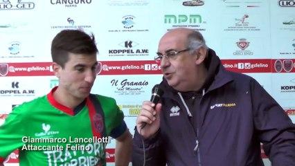 Felino - San Felice 2-0, highlights e interviste
