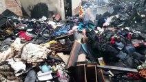 Destruição: mulher que teve casa consumida pelo fogo pede ajuda para recomeçar