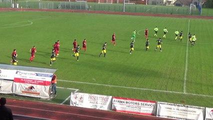 Salsomaggiore Terme - Fidentina 2-0, highlights e interviste