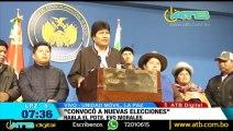 Presidente boliviano Evo Morales renuncia