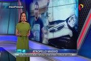 EXCLUSIVO   Atropello masivo: imágenes inéditas del accidente que dejó 2 muertos y 10 heridos