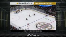 Philippe Myers Extends Flyers' Lead Over Bruins Late In First Period