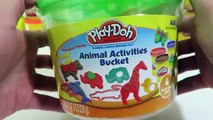 Play Doh Animal Activities Bucket Playset