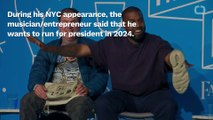 Kanye West Announces Presidential Run