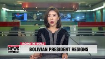 Bolivian President Morales to resign after fierce election backlash