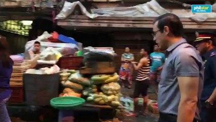 Isko Moreno berates Divisoria vendors after surprise inspection