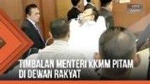 Timbalan Menteri KKMM pitam di Dewan Rakyat