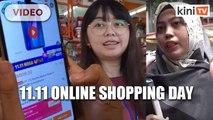 11.11 online shopping craze in full swing
