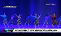 """Bertema """"Gugur Bunga"""", 8 Penari Balet ini Menari Peringati Hari Pahlawan"""