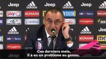 """Sarri : """"J'ai remplacé Cristiano parce qu'il n'était pas bien"""""""
