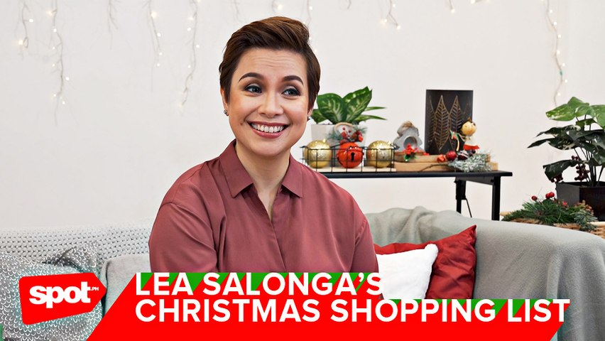 Lea Salonga Talks About Gift Giving