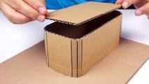 How to Make Amazing Vanilla Ice Cream Machine at Home From Cardboard