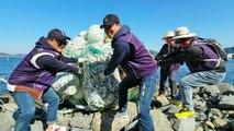 [기업] CU편의점 주인들, 해양 쓰레기 줍기 캠페인 / YTN