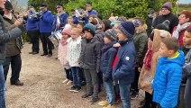 Vidéo. Les écoliers de Jules-Ferry chantent la Marseillaise aux cérémonies du 11-Novembre