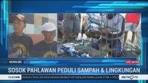 Aksi 'Pahlawan Sampah' Asal Tuban