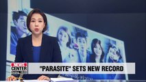 'Parasite' becomes highest-earning foreign film of 2019 at North American box office