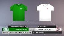 Match Review: Palmeiras vs Corinthians on 09/11/2019
