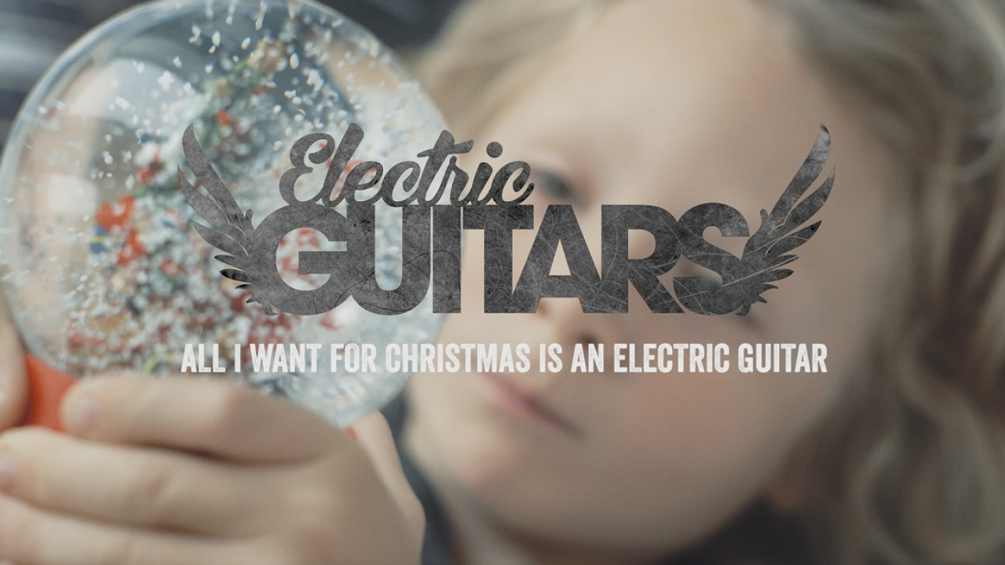 Electric Guitars – All I Want For Christmas