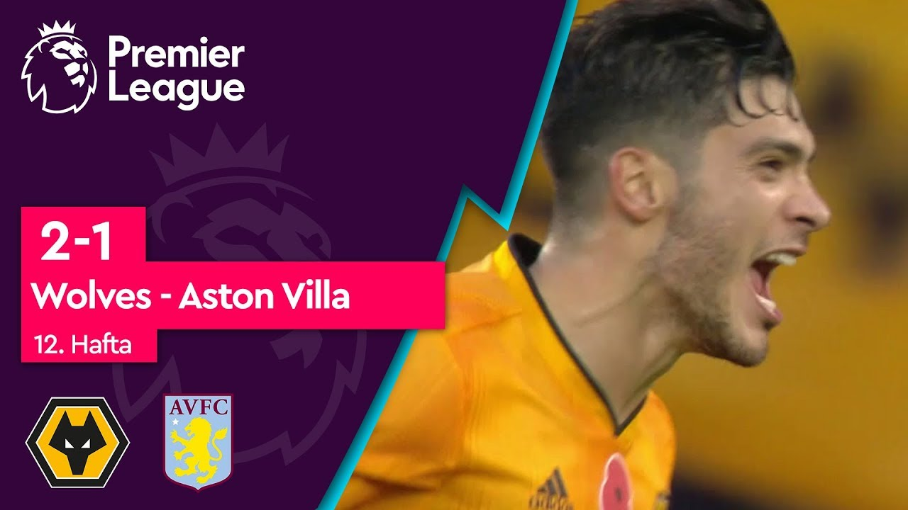 Wolves - Aston Villa (2 -1) - Maç Özeti - Premier League 2019/20