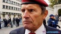Gilbert Lanaro, ancien parachutiste, combattant d'Algérie