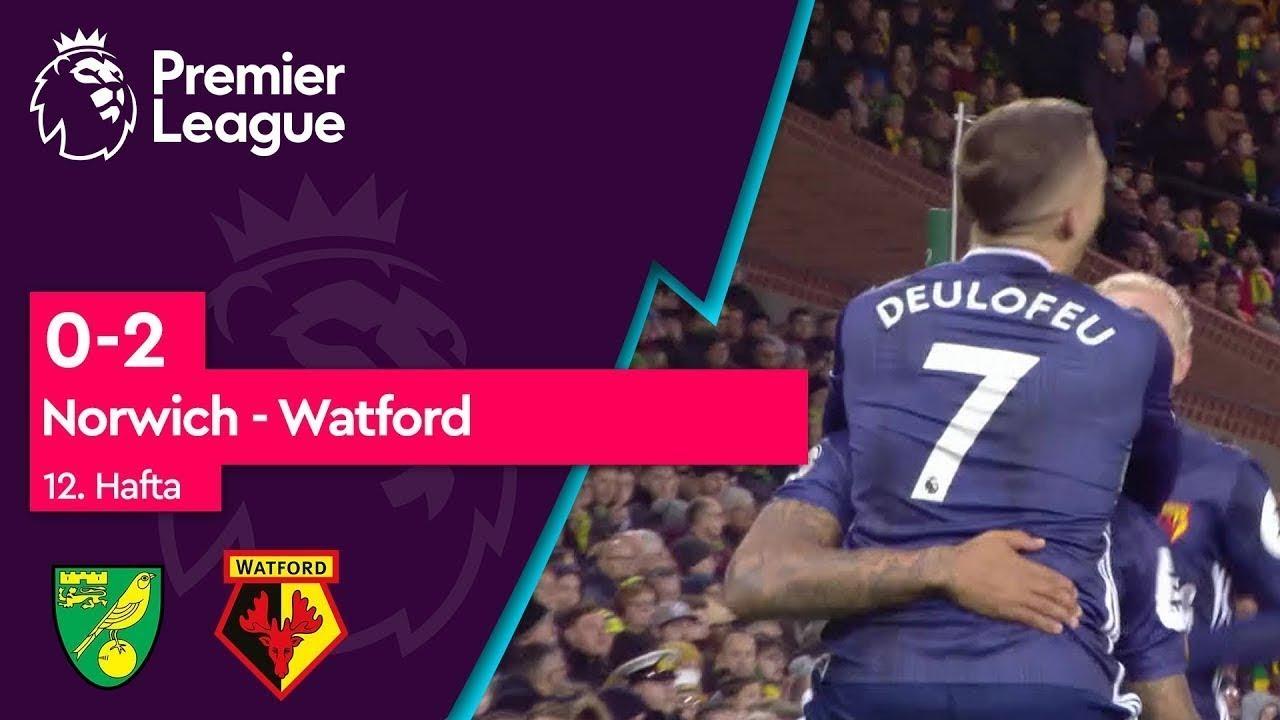 Norwich - Watford (0-2) - Maç Özeti - Premier League 2019/20