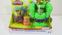 Play Doh Smashdown Hulk and Iron Man Playset