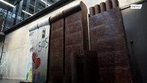 جدار برلين من الشوكولا!!!
