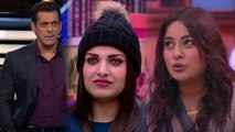 Bigg Boss 13: Shehnaz Gill gets realty check by Salman Khan in her & Himanshi's fight  FilmiBeat