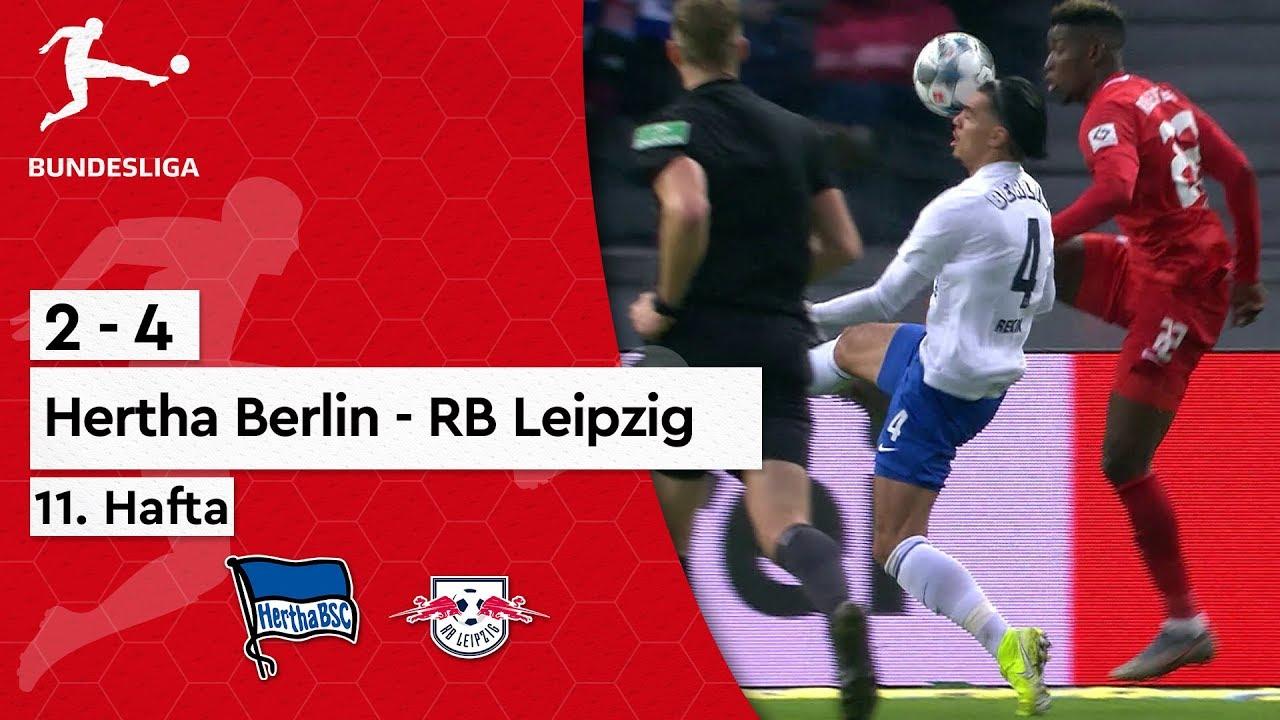 Hertha Berlin - RB Leipzig (2-4) - Maç Özeti - Bundesliga 2019/20