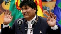 Bolivia's Evo Morales steps down