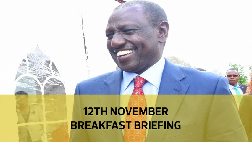 Ruto sabotages BBI?| MP sex tape probe| Ex-MPs' fat pensions: Your Breakfast Briefing