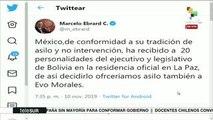 Tirado: En Bolivia se repitió golpe como a Manuel Zelaya en Honduras