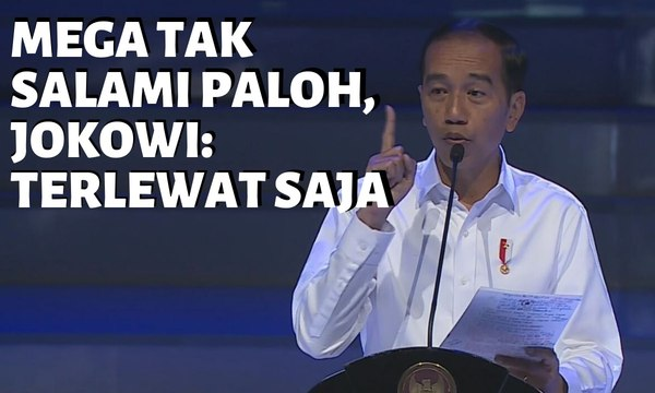 Jokowi Angkat Bicara Soal Megawati Tak Salami Surya Paloh
