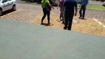 Familiares de Margarida Ferreira vão ao IML para liberação do corpo da mulher