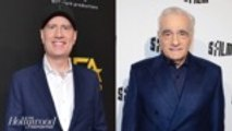 Kevin Feige Shares First Public Comments on Scorsese Debate | THR News
