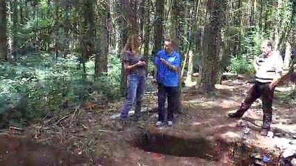 fouilles archéologiques à comblain au pont.