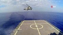 Sat komandoları indikleri gemideki terör unsurlarını temizledi.