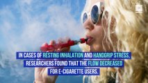 E-Cigarettes May be More Harmful to Your Hearth Than Regular Cigarettes