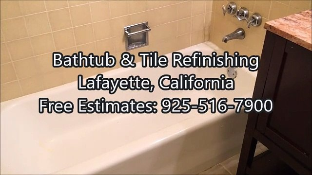 Bathtub Refinishing: Lafayette, CA (925) 516-7900